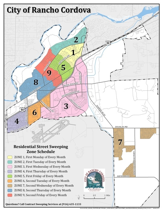 Street Sweeping Schedule Map
