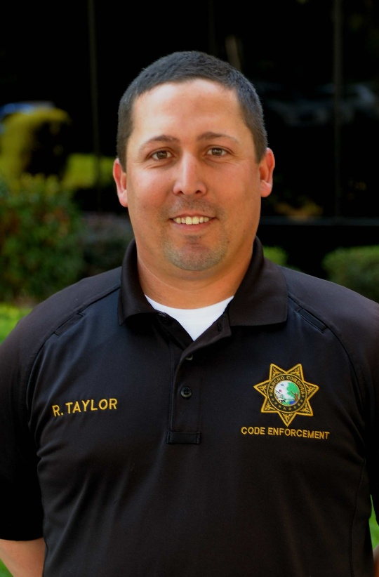 Code Enforcement Officer Ryan Taylor