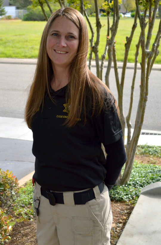Code Enforcement Officer Krista Stover