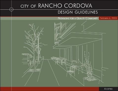 Design Guidelines Rancho Cordova