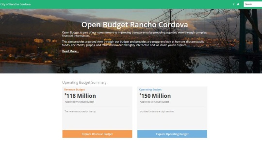 Open Budget Dashboard