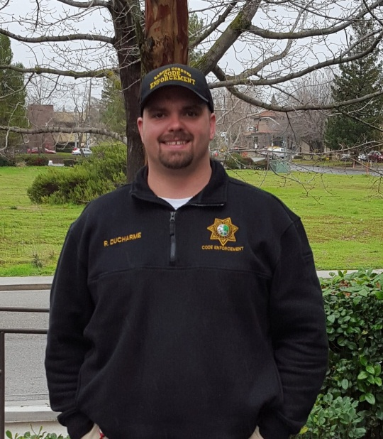 Code Enforcement Officer Russell Ducharme
