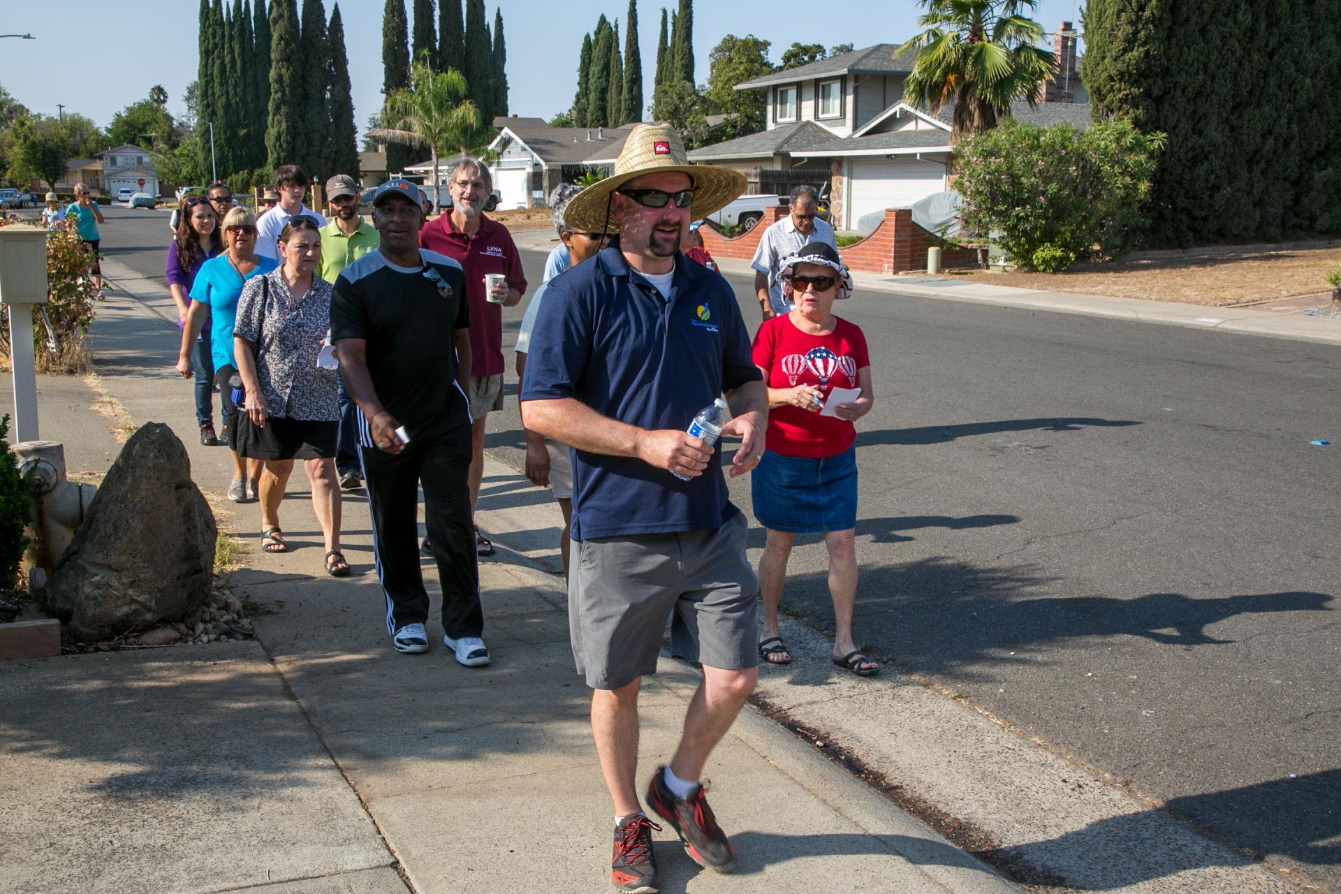 Mayors Walk 8 20 4