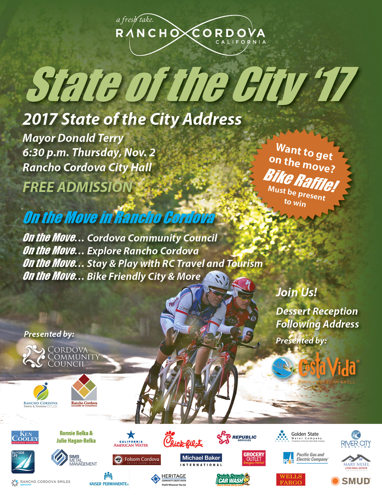 2017 State of the City Flyer