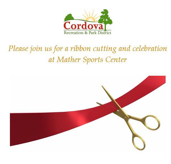 Mather Sports Center in Rancho Cordova Ribbon Cutting Ceremony