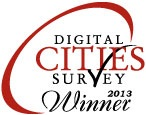 Digital Cities 2013 Award Winner Logo