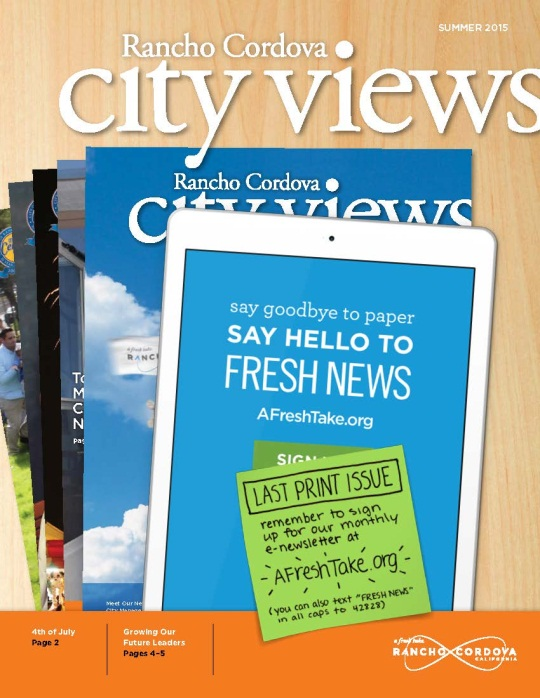 City Views Summer 2015 Cover