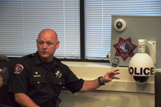 Rancho Cordova Police Chief Michael Goold discusses the surveillance cameras.
