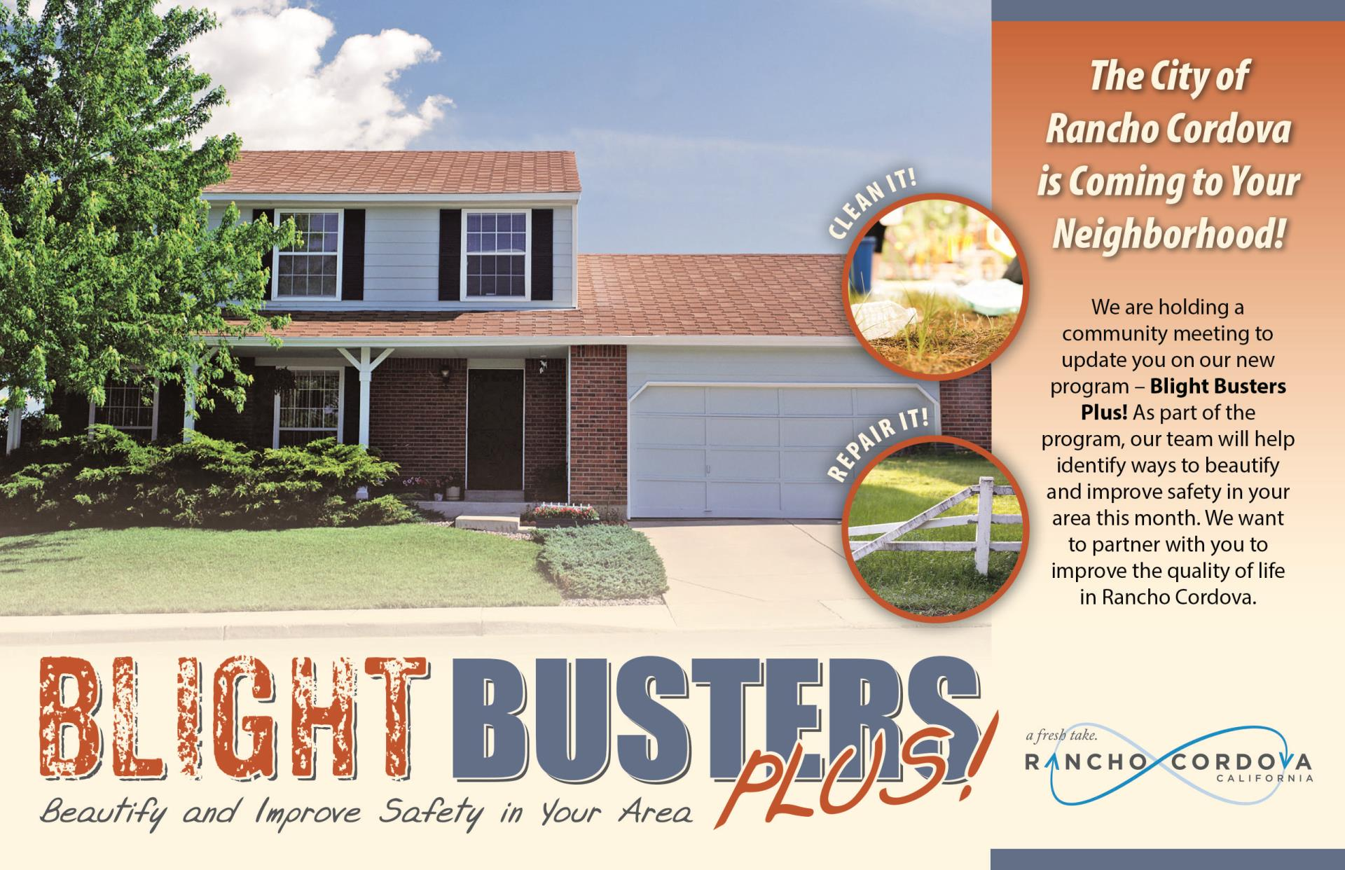 Informational image for Blight Busters Plus - Beautify and Improve Safety in Your Area