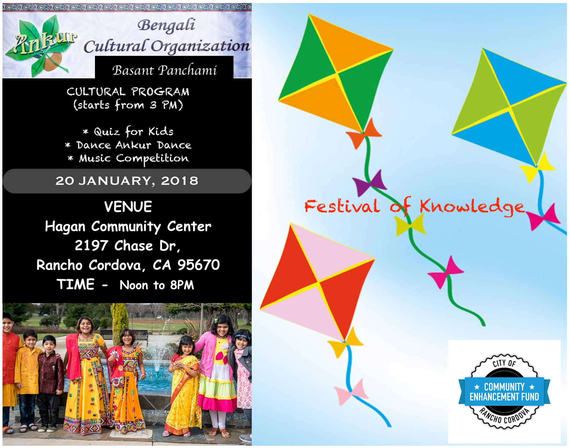 Festival of Knowledge flyer