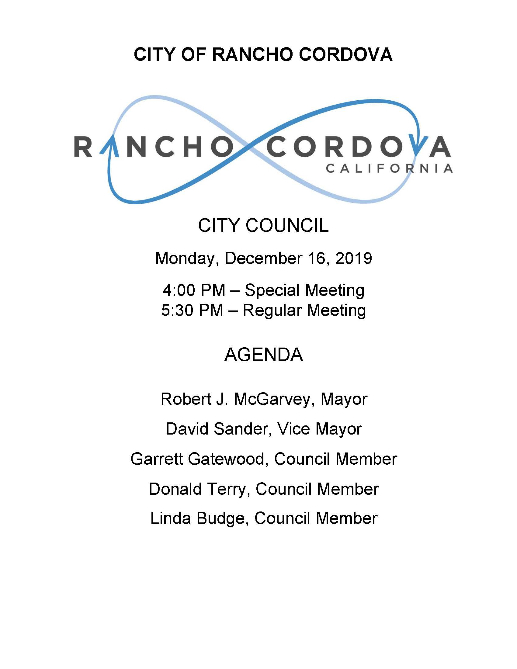 Council Meeting Agendas Minutes And Videos City Of