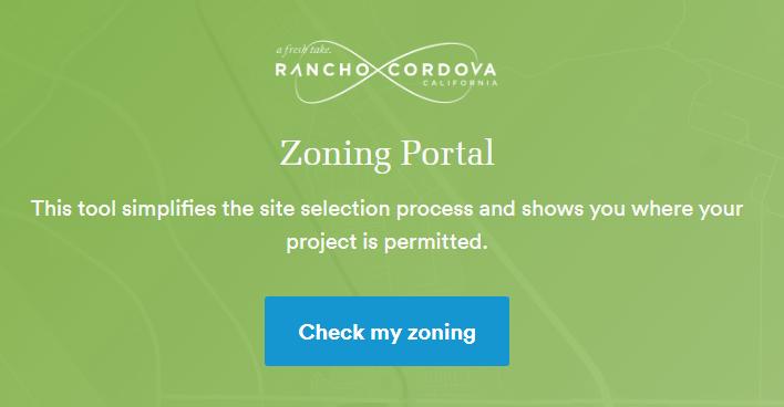 Zoningcheck portal